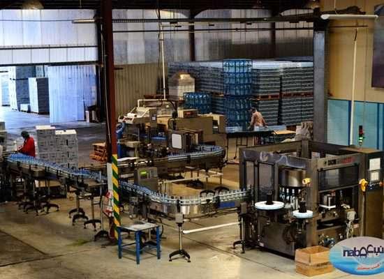 مصنع نبع تبوك للمياة الصحية